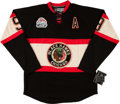 Hockey Collectibles:Uniforms, Bobby Hull Signed Chicago Blackhawks Jersey....