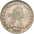 Early Half Dollars, 1797 50C XF45 NGC. O-101a, High R.4...