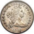Early Dollars, 1796 $1 Small Date, Large Letters XF45 PCGS. B-4, BB-61, R.3....