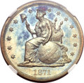 Patterns, 1871 $1 One Dollar, Judd-1147, Pollock-1289, R.6-7, PR66 Red and Brown NGC....
