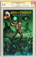 Modern Age (1980-Present):Horror, Army of Darkness: Ashes 2 Ashes #1 Variant Cover (Devil's Due,2004) CGC Signature Series NM/MT 9.8 White pages....