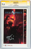 Modern Age (1980-Present):Horror, Hellspawn #13 (Image, 2002) CGC Signature Series NM+ 9.6 Whitepages....