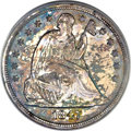 Proof Seated Dollars, 1847 $1 PR63 PCGS. CAC....