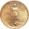 Saint-Gaudens Double Eagles, 1920-S $20 MS63 PCGS....