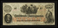 Confederate Notes:1862 Issues, T41 $100 1862 PF-8 Cr. 321.. ...