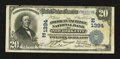 New York, NY - $20 1902 Date Back Fr. 643 The American Exchange Pacific NB Ch. # (E)1394