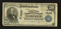National Bank Notes:Colorado, Denver, CO - $20 1902 Plain Back Fr. 650 The United States NB Ch. # (W)7408. ...