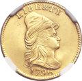 Early Quarter Eagles, 1796 $2 1/2 No Stars -- Repaired -- NGC Details. AU. Breen-6113,BD-2, R.4....