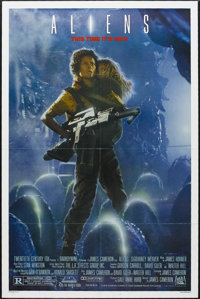 "Aliens (20th Century Fox, 1986). One Sheet (27"" X 41""). Science Fiction Horror. Starring Sigourney Weaver, Car..."
