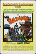 "Movie Posters:Action, Batman (20th Century Fox, 1966). One Sheet (27"" X 41""). ActionComedy. Starring Adam West, Burt Ward, Lee Meriwether, Cesar ..."