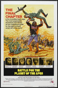 """Movie Posters:Science Fiction, Battle for the Planet of the Apes (20th Century Fox, 1973). One Sheet (27"""" X 41""""). Science Fiction. Starring Roddy McDowall,..."""
