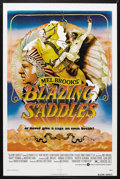"Movie Posters:Comedy, Blazing Saddles (Warner Brothers, 1974). One Sheet (27"" X 41""). Comedy. Starring Cleavon Little, Gene Wilder, Harvey Korman,..."