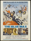 "Movie Posters:War, The Blue Max (20th Century Fox, 1966). Poster (30"" X 40""). War.Starring George Peppard, James Mason, Ursula Andress, Jeremy..."