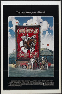 """Bronco Billy (Warner Brothers, 1980). One Sheet (27"""" X 41""""). Comedy Adventure. Starring Clint Eastwood, Sondra..."""