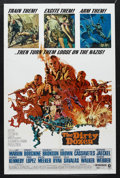 "Movie Posters:War, The Dirty Dozen (MGM, 1967). One Sheet (27"" X 41""). War. Starring Lee Marvin, Ernest Borgnine, Charles Bronson, Jim Brown, J..."