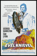 "Movie Posters:Action, Evel Knievel (Fanfare Corp, 1971). One Sheet (27"" X 41""). Sports Drama. Starring George Hamilton, Sue Lyon, Rod Cameron and ..."