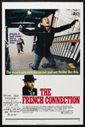 "Movie Posters:Film Noir, The French Connection (20th Century Fox, 1971). One Sheet (27"" X 41""). Crime. Starring Gene Hackman, Fernando Rey, Roy Schei..."