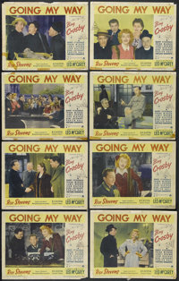 "Going My Way (Paramount, 1944). Lobby Card Set of 8 (11"" X 14""). Musical Comedy/Drama. Starring Bing Crosby, B..."