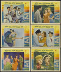 """Movie Posters:Musical, Happy Go Lucky (Paramount, 1943). Lobby Cards (6) (11"""" X 14""""). Musical Comedy. Starring Mary Martin, Dick Powell, Betty Hutt... (Total: 6 Items)"""