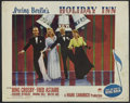 "Movie Posters:Musical, Holiday Inn (Paramount, 1942). Lobby Card (11"" X 14""). Musical Comedy. Starring Bing Crosby, Fred Astaire, Marjorie Reynolds..."