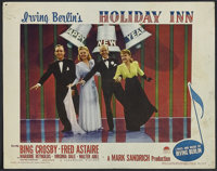 """Holiday Inn (Paramount, 1942). Lobby Card (11"""" X 14""""). Musical Comedy. Starring Bing Crosby, Fred Astaire, Mar..."""