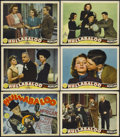 """Movie Posters:Musical, Hullabaloo (MGM, 1940). Title Lobby Card (11"""" X 14"""") and Lobby Cards (5) (11"""" X 14""""). Musical Comedy. Starring Frank Morgan,... (Total: 6 Items)"""