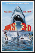 "Movie Posters:Thriller, Jaws 3-D (Universal, 1983). One Sheet (27"" X 41""). Horror. Starring Dennis Quaid, Bess Armstrong, Simon MacCorkindale, Louis..."