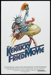 "The Kentucky Fried Movie (United Film Distribution, 1977). One Sheet (27"" X 41""). Comedy. Starring Donald Suth..."