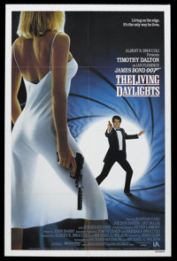 """The Living Daylights (United Artists, 1987). One Sheet (27"""" X 41""""). James Bond Action. Starring Timothy Dalton..."""