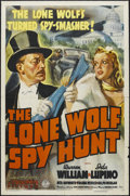 "Movie Posters:Mystery, The Lone Wolf Spy Hunt (Columbia, 1939). One Sheet (27"" X 41"") Style A. Mystery. Starring Warren William, Ida Lupino, Rita H..."