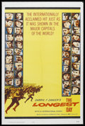 "Movie Posters:War, The Longest Day (20th Century Fox, 1962). One Sheet (27"" X 41"").War. Starring John Wayne, Robert Mitchum, Henry Fonda, Robe..."