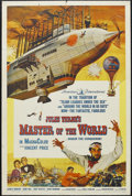 "Movie Posters:Science Fiction, Master of the World (American International, 1961). One Sheet (27"" X 41""). Sci-Fi Adventure. Starring Vincent Price, Charles..."