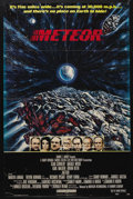 """Movie Posters:Comedy, Meteor (AIP, 1979). One Sheet (27"""" X 41""""). Sci-Fi Thriller. Starring Sean Connery, Natalie Wood, Karl Malden, Brian Keith, M..."""