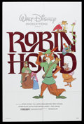 "Movie Posters:Animated, Robin Hood (Buena Vista, 1973). One Sheet (27"" X 41"") andPromotional Posters (3) (11"" X 17""). Animated. Starring thevoices... (Total: 4 Item)"