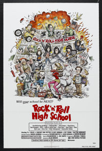 """Rock 'n' Roll High School (New World Pictures, 1979). One Sheet (27"""" X 41""""). Musical Comedy. Starring P.J. Sol..."""