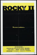 """Rocky II (United Artists, 1979). One Sheet (27"""" X 41""""). Sports Drama. Starring Sylvester Stallone, Talia Shire..."""