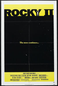 "Rocky II (United Artists, 1979). One Sheet (27"" X 41""). Sports Drama. Starring Sylvester Stallone, Talia Shire..."
