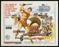 "Movie Posters:Adventure, The Slave (MGM, 1963). Half Sheet (22"" X 28""). Adventure. Starring Steve Reeves, Jacques Sernas, Gianna Maria Canale and Cla..."