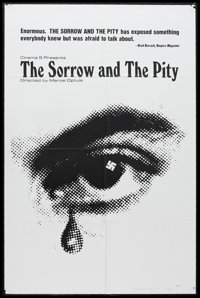 """The Sorrow and the Pity (Cinema 5, 1972). One Sheet (26.25"""" X 40.5""""). Documentary. Written by André Har..."""