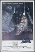 """Star Wars (20th Century Fox, 1977). One Sheet (27"""" X 41"""") Style A. Science Fiction. Starring Harrison Ford, Ma..."""