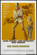 "Movie Posters:Western, The Train Robbers (Warner Brothers, 1973). One Sheet (27"" X 41""). Western. Starring John Wayne, Ann-Margret, Rod Taylor and ..."