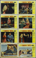 """Movie Posters:Crime, The Unholy Wife (RKO, 1957). Lobby Card Set of 8 (11"""" X 14""""). Crime. Starring Diana Dors, Rod Steiger, Tom Tryon, Beulah Bon... (Total: 8 Items)"""