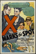 """Movie Posters:Mystery, X Marks the Spot (Republic, 1942). One Sheet (27"""" X 41""""). Mystery. Starring Damian O'Flynn, Helen Parrish, Dick Purcell, Jac..."""