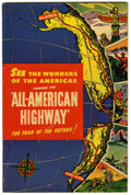 "Golden Age (1938-1955):Non-Fiction, All-American Highway #nn Davis Crippen (""D"" Copy) pedigree(Plymouth, 1946) Condition: FN...."