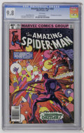 Modern Age (1980-Present):Superhero, The Amazing Spider-Man #203 (Marvel, 1980) CGC NM/MT 9.8 Whitepages. Frank Miller and Jim Mooney cover. Keith Pollard and M...