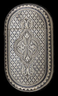 Silver & Vertu:Smalls & Jewelry, A RARE AND IMPORTANT GORHAM SILVER AND NIELLO MATCH SAFE . Gorham Manufacturing Co., Providence, Rhode Island, 1877. Marks: ...