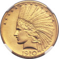 Proof Indian Eagles, 1910 $10 PR67 NGC....