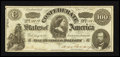Confederate Notes:1862 Issues, CT49/349B Counterfeit $100 1862.. ...