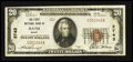 National Bank Notes:Maine, Bath, ME - $20 1929 Ty. 1 The First NB Ch. # 2743. ...