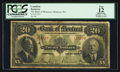 Canadian Currency: , Montreal, PQ- Bank of Montreal $20 Jan. 2, 1923 Ch. # 505-56-06....